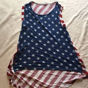 Cloud chaser American flag top